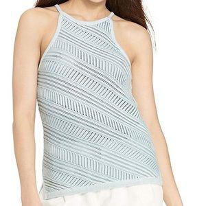 NWT Lauren Ralph Lauren Pointelle Knit Cotton Tank